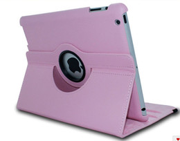 Wholesale Rotary Pads - Mutilcolors 360 Degree Rotary Smart Magnetic PU Leather Cover case for Pad iPad 2 3 4 ipad air ipad 5