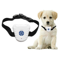Wholesale Pet Safe Training Collar - S5Q Ultrasonic Dog Anti Bark Stop Barking Healthy Safe Training Collar For Pets AAAAEB