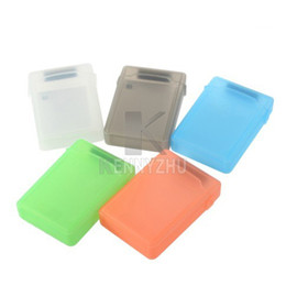 New 3.5 Inch Hard Disk Protect Case Hard Driver Anti-shake Storage Box Cover Multi Color from 2nd hard drive ssd caddy suppliers