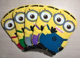 Wholesale Despicable Case Cover 3d - 3D Cute Despicable Me Cartoon Animals Soft Silicone Cover Case For 7.9inch iPad Mini case