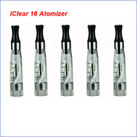 Wholesale electronic cigarette itaste - Innokin Iclear 16 Dual Coil head Clearomizer 100% Original Atomizer fit Itaste vv electronic cigarette all eGo eGo T eGo C series battery