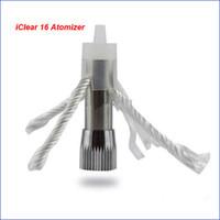 iclear16 spulen großhandel-Innokin iClear 16 wiederaufladbare Atomizer Dual-Coil-Kopf Elektronische Zigarette e cig Clearomizer Coil-Kopf iclear16 auswechselbaren Kopf Spulenkern