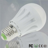 Wholesale E27 Free Shipping - 100% New LED Lights 3W 5W 7W LED Bulb 110V 220v 230v 240v E27 B22 Led Lamp White Warm White smd 2835 Led Light Spotlight 10pcs Free shipping