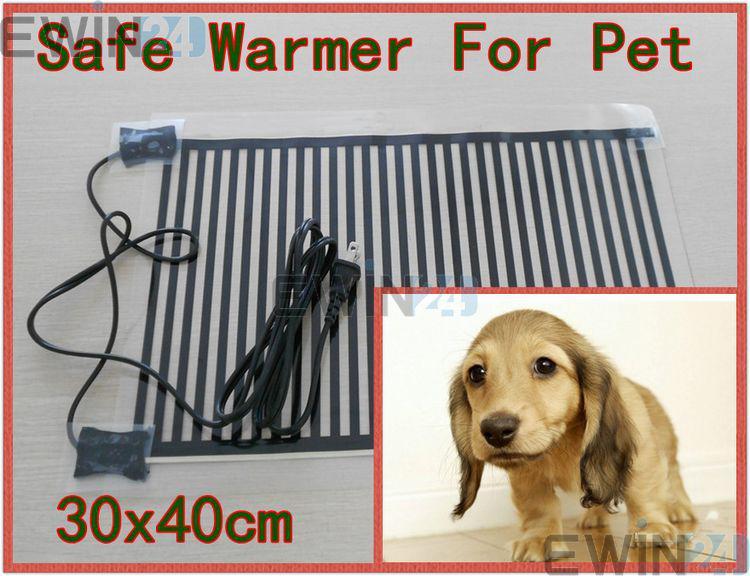 애완 동물 개 고양이 30x40cm에 대 한 미국 플러그 안전 난방 패드 침대 온난 성 20W