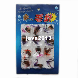 Wholesale Soft Bait Reels - Dry Fly Butterfly Fishing Flies Trout Lures Bugs Colorful for Rod Reel Line 12pcs 1pack Free Shipping