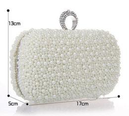 Wholesale Wedding Rings Velvet Bags - 2014 Luxury Crystal Diamond Ring Evening Clutch Bag Purses Women's Wedding Party Prom Bridal HandBags Free Shipping