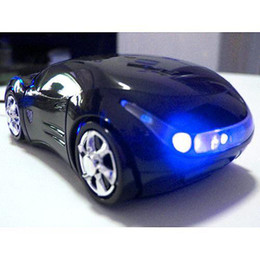 Wholesale Mice Scroll - S5Q DeathAUSB 2.0 Mini 3D Car Led Scroll Wheel Optical Mouse Mice For PC MAC Laptop AAAAIP