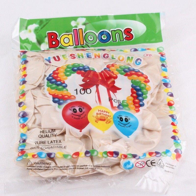 200 Stück reine Perle Farbe Ballons Latex Hochzeit Dekoration Ballon für Party, Hotel, Geburtstag, Karneval versandkostenfrei