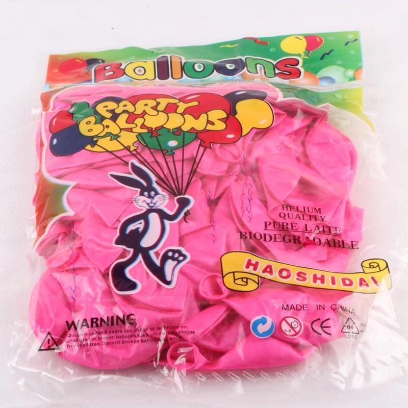 200 stks pure parel kleur ballons latex bruiloft decoratie ballon voor feest, hotel, verjaardag, carnaval gratis verzending