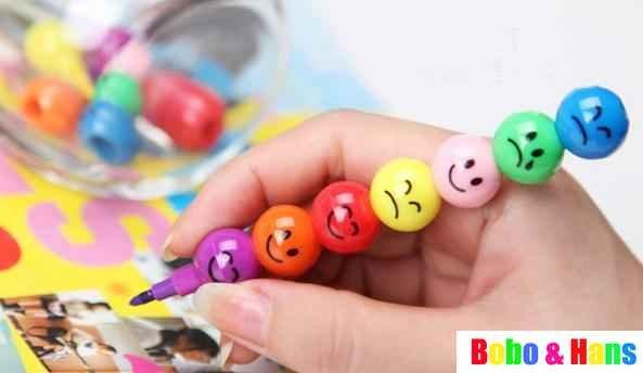 Free Shipping/New cute Candied haws on a stick 7 colors Crayons / Korean Style / Promotion Gift /Wholesale