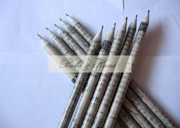 Artigos de papelaria das crianças, produtos amigáveis de Eco / lápis recicl do jornal / venda por atacado, dandys de