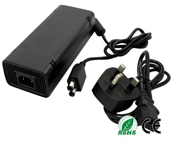 AC Adapter Power Supply Cord Charger FOR XBOX 360 Slim Charger for game xbox 360