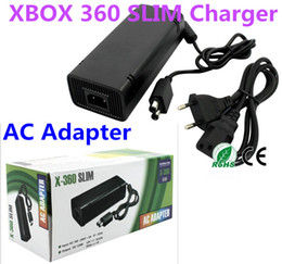 Power Supply Cord Xbox Canada - AC Adapter Power Supply Cord Charger FOR XBOX 360 Slim Charger for game xbox 360
