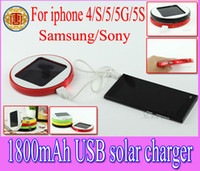 Wholesale S3 Solar Charger - 1800mAh Window Solar charger rechargeable Backup battery Power bank for iphone5 iphone 5 4 4S sumsang S3 S4 I9500,free shipping