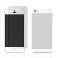 protector de la pantalla del iphone 5g al por mayor-Protector protector de pantalla Película para iphone 5 5S 5G Alta definición Frontal + Trasera + Tela Clear Fullbody Rear 1000sets