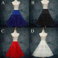 "Wholesale Tutu Colores - 26"" 50s Retro Underskirt Swing Vintage Petticoat Fancy Net Skirt Rockabilly Tutu (4 Colores To Choosing) DH6963"