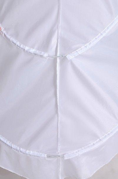 Bröllopsklänning Chapel Train Petticoat Pagant Crinoline Prom Gown Underskirt DH6966