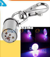 Étiquettes Flasher Menées Pour Animaux De Compagnie Pas Cher-Vente en gros - livraison gratuite ** 50pcs / lot Pet Dog Cat Flasher Blinker LED Light Tag Collier de sécurité