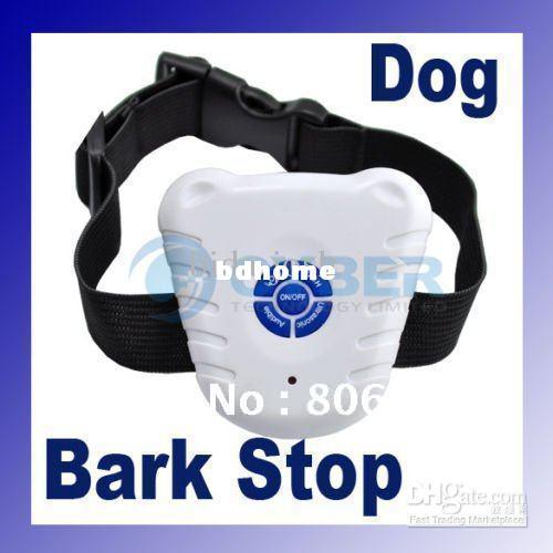 Wholesale - free shipping Ultrasonic Anti Bark Dog Stop Barking Collar
