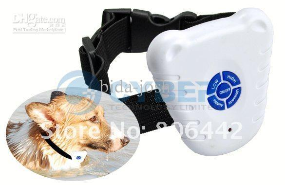 free shipping Ultrasonic Anti Bark Dog Stop Barking Collar