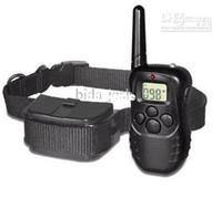 Wholesale Extra Shock Collar - Wholesale - 1pcs lot FREE SHIPPING LCD 100LV SHOCK&VIBRA REMOTE DOG TRAINING COLLAR