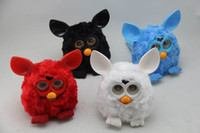 Wholesale Wholesale Month Figurines - HOT NEW Electric Phoebe Elves Figurines Recording Plush Electronic Pet Toys Mini Talking furbi toys repeat gift toys for children kids