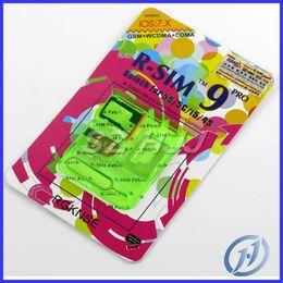 Wholesale R Sim 5c - R-SIM RSIM 9 PRO Unlock Sim card for iPhone 4S 5 5S 5C GSM WCDMA iOS7