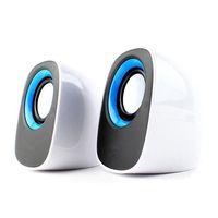 Wholesale Speakers For Desktop Computers - S5Q USB Powered Dual Desktop Stereo Speaker For Computer Laptop PC Macbook New AAAAJN
