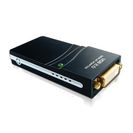 Wholesale Vga Ddr Card - S5Q 1080P UGA USB To DVI HDMI VGA Adapter Converter Multi-Display Graphics Card AAAALS