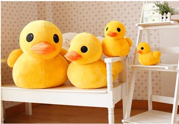 12 Cute Giant Rubber Duck Plush Dolls Birthday Gifts Stuffed Pillow ...