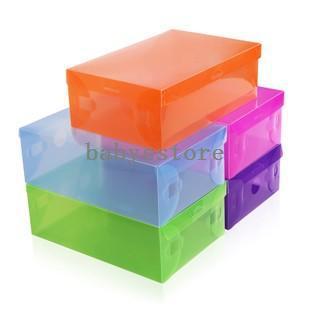 Best Transparent Plastic Shoe Box Women Storage Pp Shoe Box Multi Color Clear Storage Box For Shoes Foldable Under $36.1 | Dhgate.Com  sc 1 st  DHgate.com & Best Transparent Plastic Shoe Box Women Storage Pp Shoe Box Multi ...