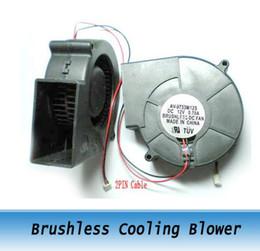 Ventiladores DC 12 V 97 MM x 97 MM X 33 MM Ventilador de Ventilador de Arrefecimento Brushless 2 pcs de