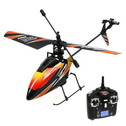 Wholesale v911 rc helicopter - S5Q 2.4GHz Mini Radio Single Propeller RC Helicopter Gyro V911 RTF Toys AAABNS