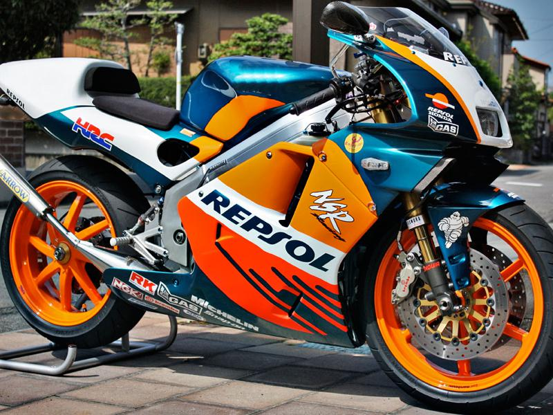 Repsol! Fairing Kits For Honda Nsr250r Mc28 Pgm4 94 95 96 Nsr250r Mc28 1994 1995 1996 Motorcycle ...