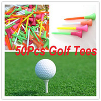 Wholesale 50X Wedge Plastic Rubber Cushion Top Golf Tee Practice Training mm Mixed Color