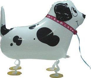 Dalmatians Dog walking pet Helium balloons Kids birthday party decorations Inflatable toys gifts for children games