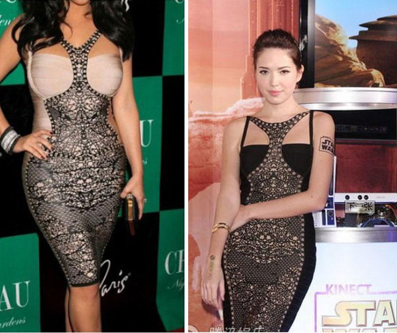Kim k cocktail dresses cheap