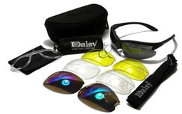 Wholesale Desert Glasses - New Daisy US C3 Desert Storm SunGlasses Goggles Tactical Eye Protective Riding Cycling Eyewear UV400 Glasses