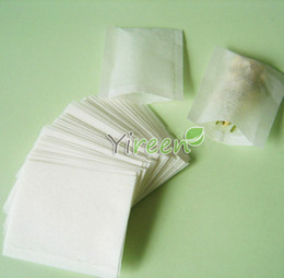 Wholesale Plant Powder - Free shipping! wholesale 10,000pcs set 50 X 60mm Empty tea bag, Heat sealing bag, Filter paper, Herb powder   plant powder bags