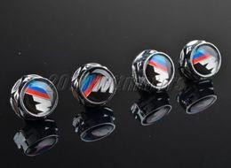 Wholesale Chrome License - 4pcs set Chrome LICENSE PLATE FRAME Bolt For BMW M 1 3 5 7 X M Z All series
