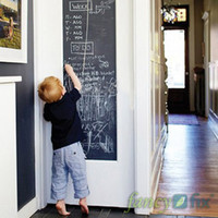 Wholesale Vinyl Chalkboard Wall Stickers Removable Blackboard Decals Great Gift for Kids CMx200CM with Free Chalks B2