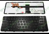 Wholesale hp pavilion dm4 - New Notebook Laptop keyboard FOR HP Pavilion DM4-1000 DV5-2000 Backlit Black with frame US - NSK-HT1BV.