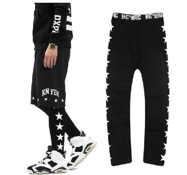 Unisex Pyrex Vision Leggings JEGGNG HBA Hood by air render GV adjustable pants tights costume clothes