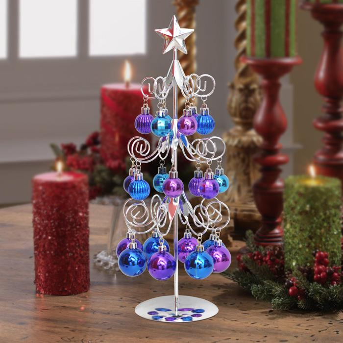 see larger image - Iron Christmas Tree