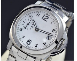 Discount luxury watches s - Free Shipping Top Quality Automatic Movement Men\'s watch New Mens Wristwatch Stainless Steel Automatic Watch