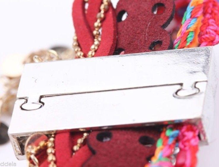 large bracelet magnétique avec fermoir aimanté rectangulaire large plaqué argent