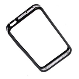 Wholesale Iphone 4s Cases Skins - S5Q Clear Bumper Case Cover Skin Protector Premium Black Trim For iPhone 4 4S 4G AAAANY