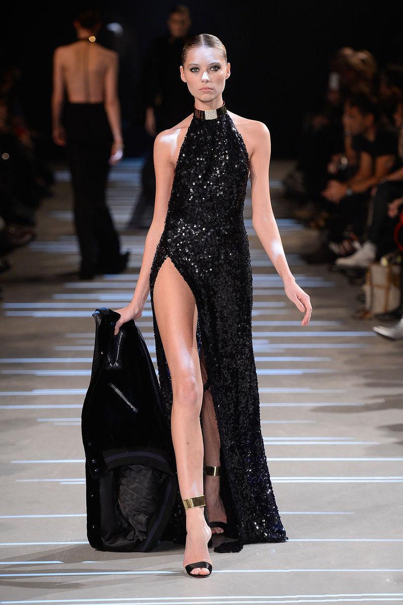 Black dress very - Very Sexy Designer Evening Gown Shiny Black Sequin Fitted Halter Top Backless High Side Slit Evening Dresses Prom Dress Pro226 Designer Formal Dresses Dress