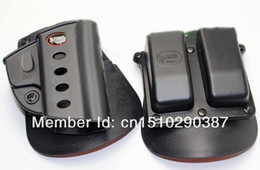 Wholesale Double Paddle - Fobus Evolution Holster RH Paddle HOLSTER BRV For Vertec Tarus 92 99 DOUBLE MAGAZINE POUCH PADDLE 6909