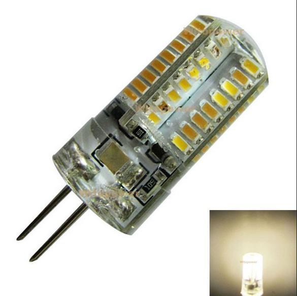G9 G4 LED-lampor 3W 3014 SMD 64 LED AC 110V-130V 220V-240V LED Light ljuskrona lampa Dimbar icke-dimbar 360 strålvinkel DHL-fartyg